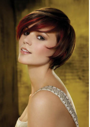 Luxe Layers short wedding hairstyle with red  highlights.PNG