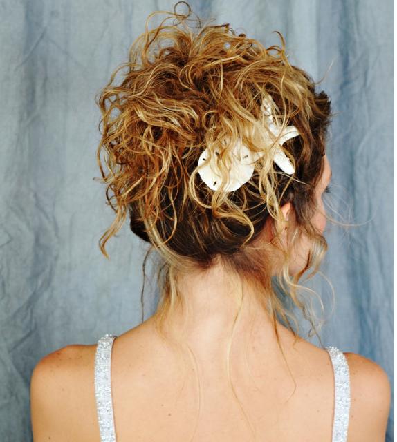 beach bridal hairstyles. Beach theme wedding hairstyle