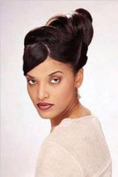 black bridal hair with french roll.jpg