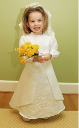 Short hair flower girl hairstyle with yellow flowers.PNG