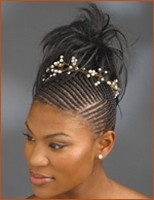 black wedding hairstyle cornrows.jpg