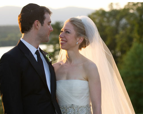 Marc Mezvinsky and Chelsea Clinton's Wedding photos.PNG