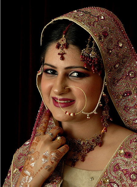 hairstyles for indian brides. Indian bride pictures.PNG