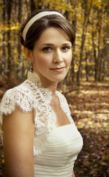 Simple wedding hairstyle with head band with side bang.PNG