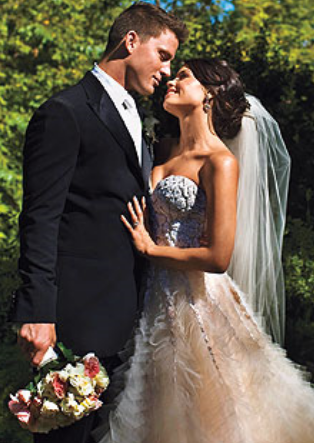 channing tatum and jenna dewan wedding. Channing Tatum and Jenna Dewan