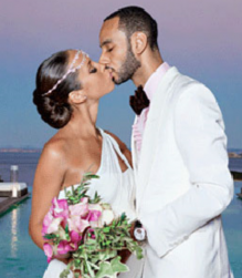 Picture of Swizz Beatz and Alicia Keys wedding.PNG
