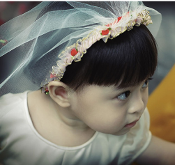 Flower girl with veil with flowers.PNG