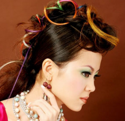 Fun and colorful updo for asian woman.PNG