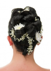 Asian wedding updo with fresh white flowers.PNG