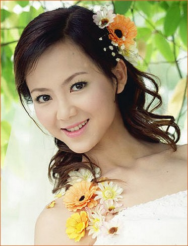Excellent Asian Bridal Hair Styles Preweddings And Weddings Hairstyle Inspiration Daily Dogsangcom