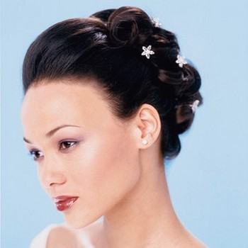 wedding updo for Asian with star hair clips.jpg