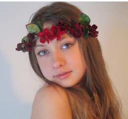 Red flowers headband for wedding.PNG