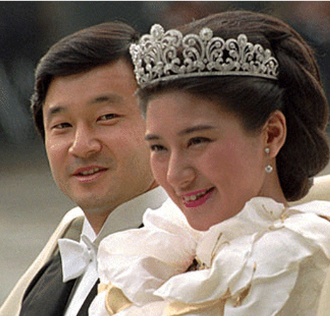 Japan's Crown Princess Masako's wedding pictures.PNG