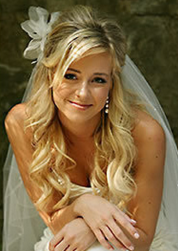 Wwavy sexy bridal hairstyle with curly half up updo pictures.PNG