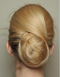 Trendy wedding updo pictures of the back of the hairdo.PNG