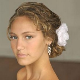 wedding low updo with white flower.jpg