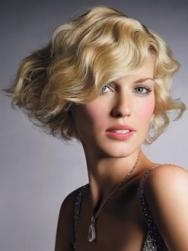 short curly hairstyle with side bang for bride.jpg