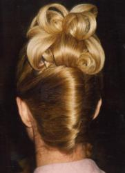 blonde wedding updo with rolls.jpg