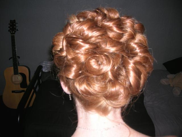 rolled bridal hairstyle, red hair.jpg