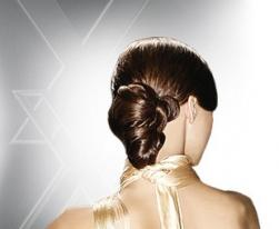 modern wedding hairstyle with low updo.jpg
