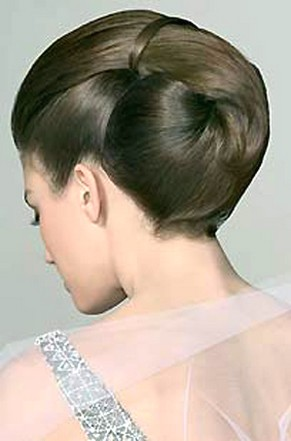 And Classic Wedding Hairstylejpg - Classic elegant hairstyle