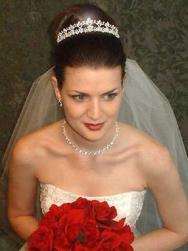 classic bridal updo with crystal tiara and veil.jpg